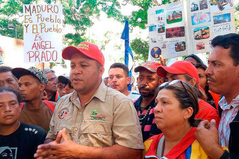 Angel Prado files an appeal with the Supreme Court in Caracas.